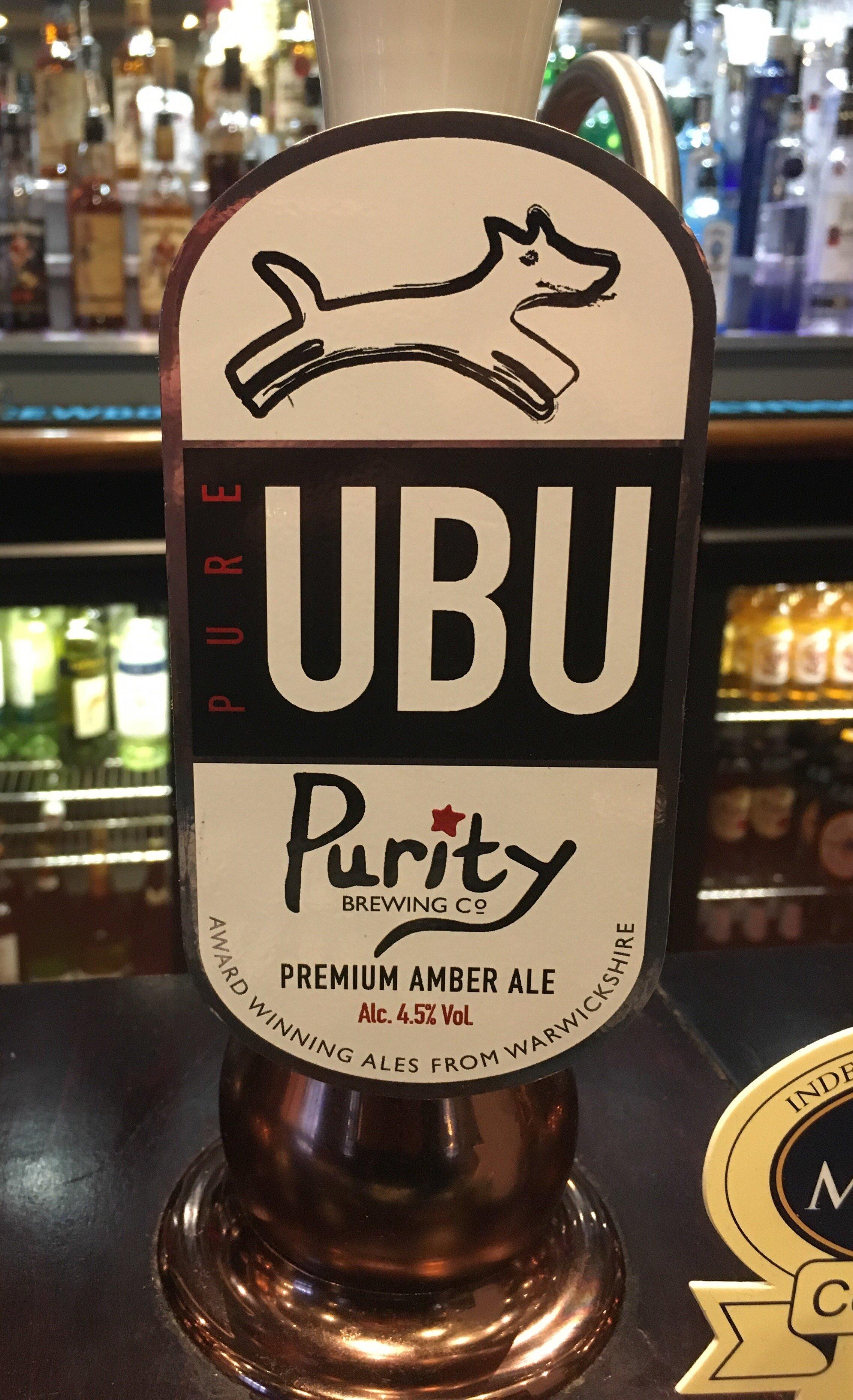 Purity Pure UBU Premium Amber Ale
