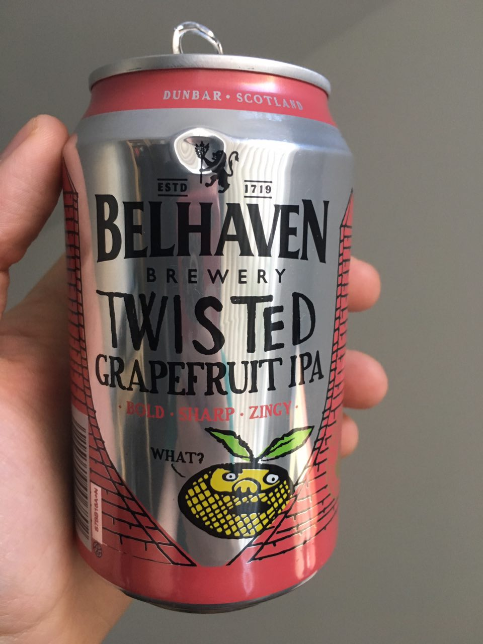 Belhaven Twisted Grapefruit IPA