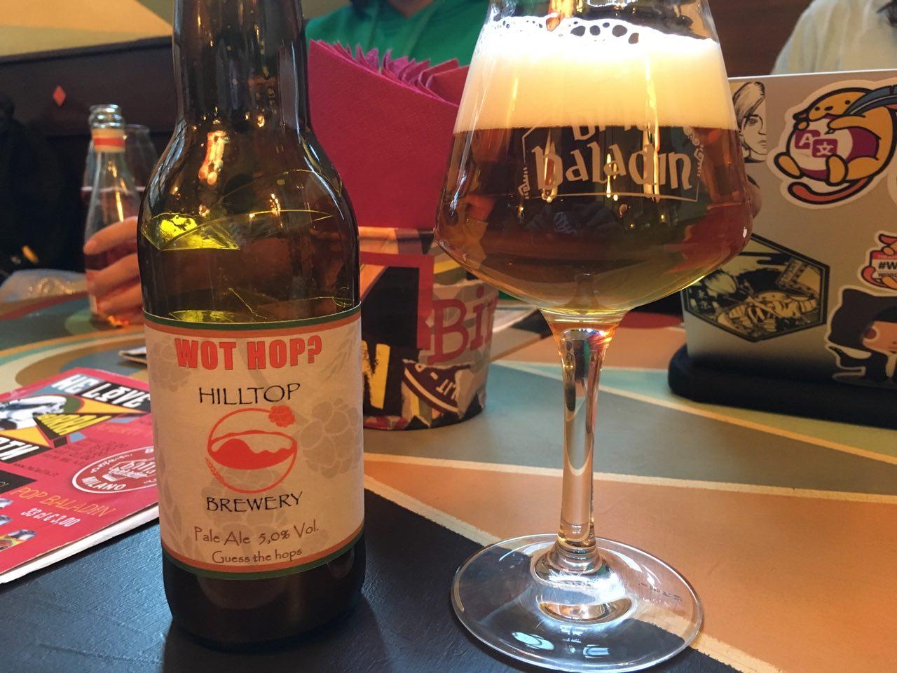 Wot Hop Hilltop Brewery
