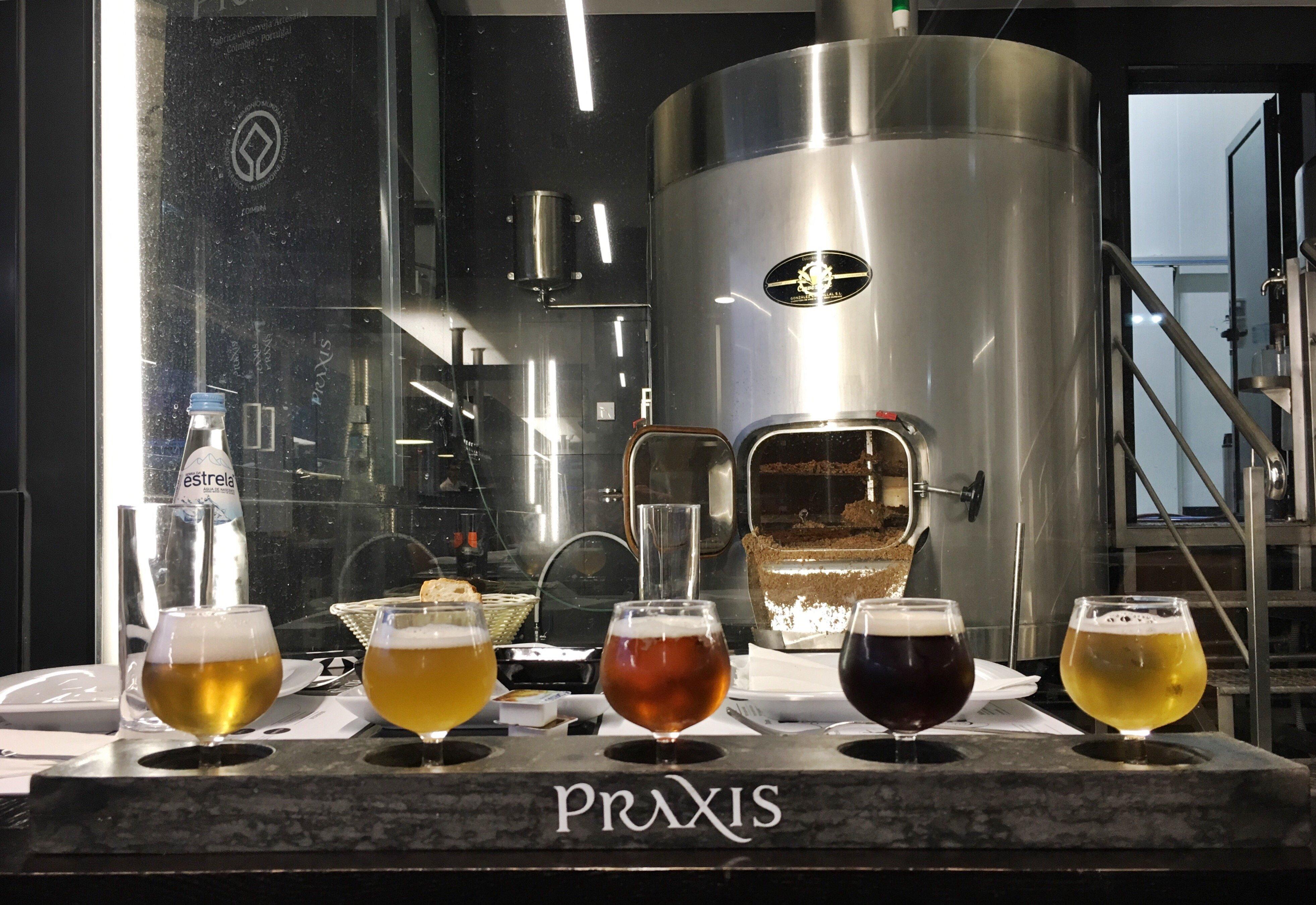 Praxis beer samples