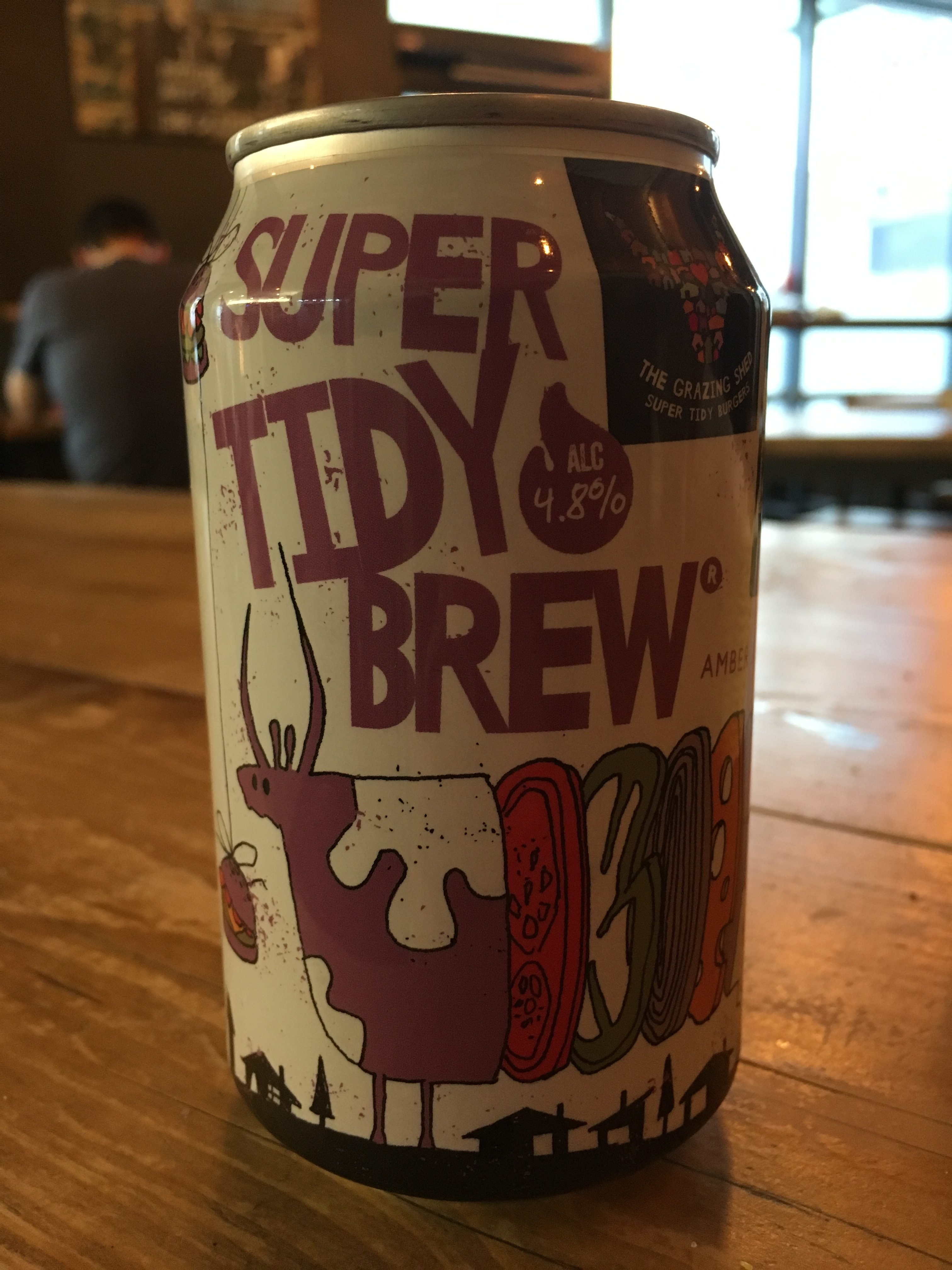 Super Tidy Brew in a can
